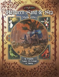 Couverture Between Sand & Sea: Mythic Africa
