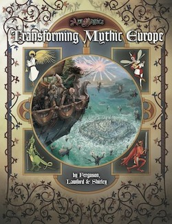 Couverture Transforming Mythic Europe