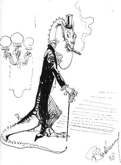 Dragon falkensteinien par Roland Barthélémy