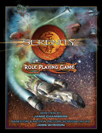 Couverture Serenity RPG