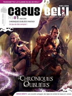 Couverture Casus Belli HS1 Chroniques Oubliées Fantasy