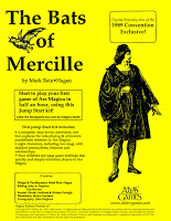Bats of Mercille cover