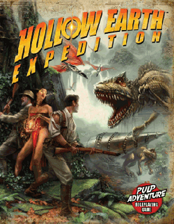 Couverture Hollow Earth Expedition