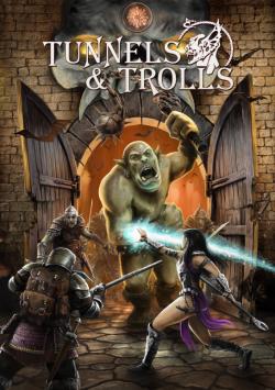 Ecran Tunnels et Trolls - Volet central