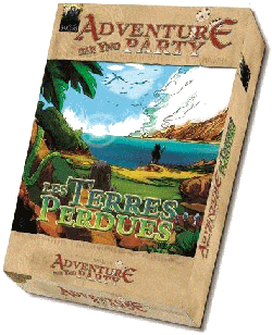 Couverture Adventure Party - Les Terres Perdues