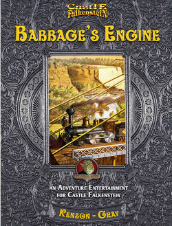 Couverture Babbage's Engine