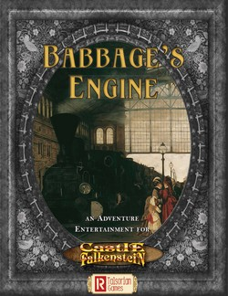 Couverture Babbage's engine Talsorian