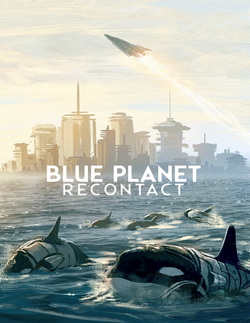 Couverture Quickstart Blue Planet: Recontact