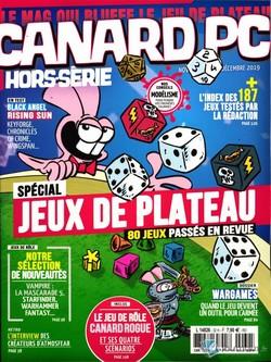 Couverture Canard PC Hors-série novembre-décembre 2019