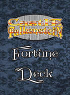 Castle Falkenstein Fortune Card Deck