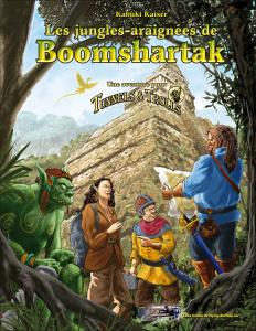 Couverture Les jungles-araignées de Boomshartak