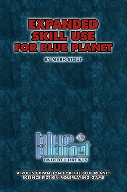 Expanded Skill Use for Blue Planet (Cover)