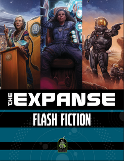 Couverture Flash Fiction The Expanse