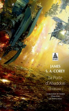 Couverture The Expanse 3