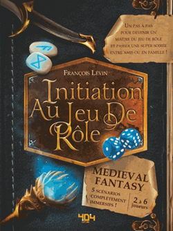 Couverture Initiation au JdR Med-Fan