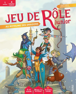 Couverture JdR Junior Royaume des Dragons