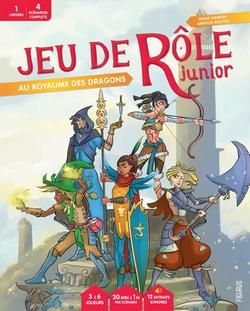Couverture JdR Junior Royaume des Dragons