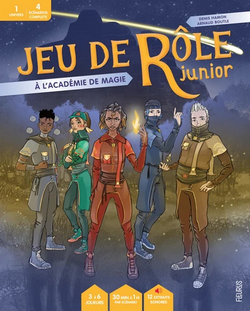 Couverture JdR Junior Académie de Magie