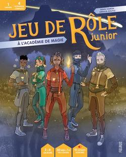 Couverture JdR Junior Académie de Magie