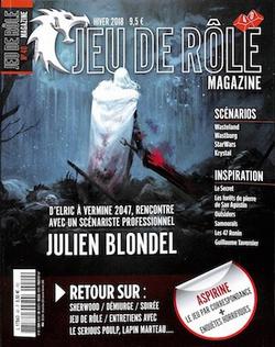 Couverture JdR Mag 40