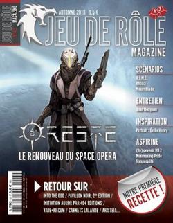 Couverture JdR Mag 43