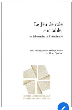Couverture Le JdR sur table