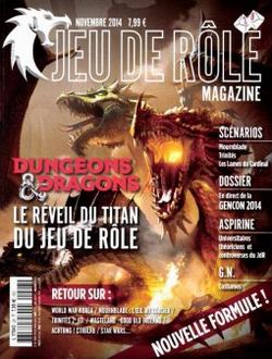 Couverture JdR Mag 28