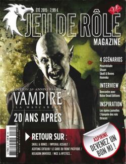 Couverture JdR Mag 30