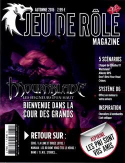 Couverture JdR Mag 31