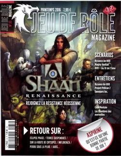 Couverture JdR Mag 33