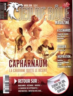 Couverture JdR Mag 36