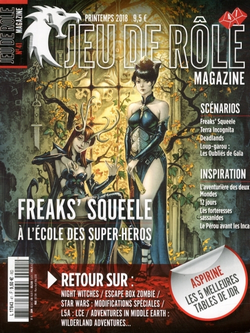 Couverture JdR Mag 41