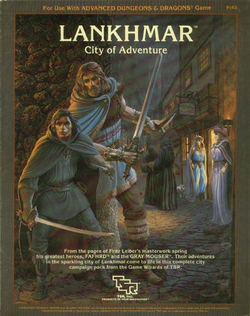 Couverture Lankhmar AD&D