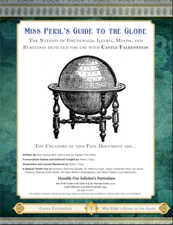 Couverture Miss Peril's Guide to the Globe