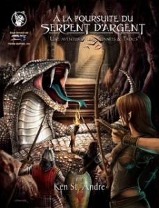 Couverture À la poursuite du Serpent d'argent