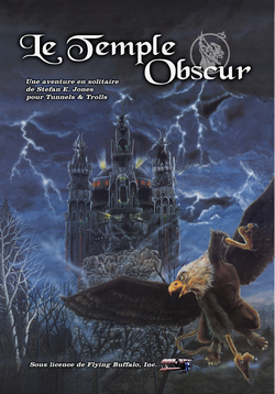 Couverture Le Temple Obscur