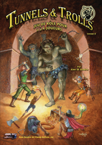 Couverture Tunnels & Trolls VF